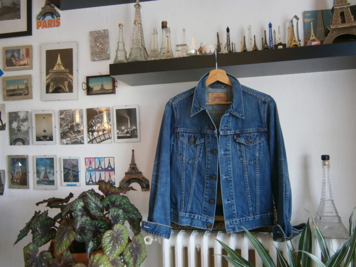 Le blouson en jeans…… un intemporel